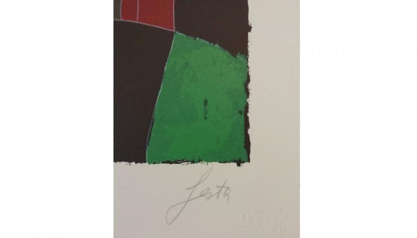 """""""Figura con spada"""" by Tano Festa"""
