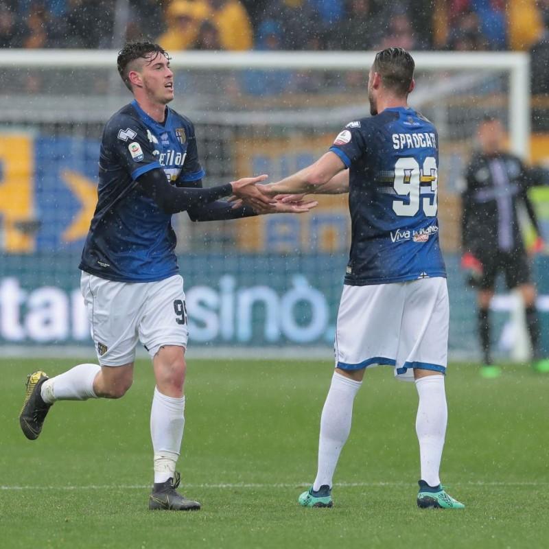 Sprocati's Worn Shirt, Parma-Sampdoria - #Blucrociati