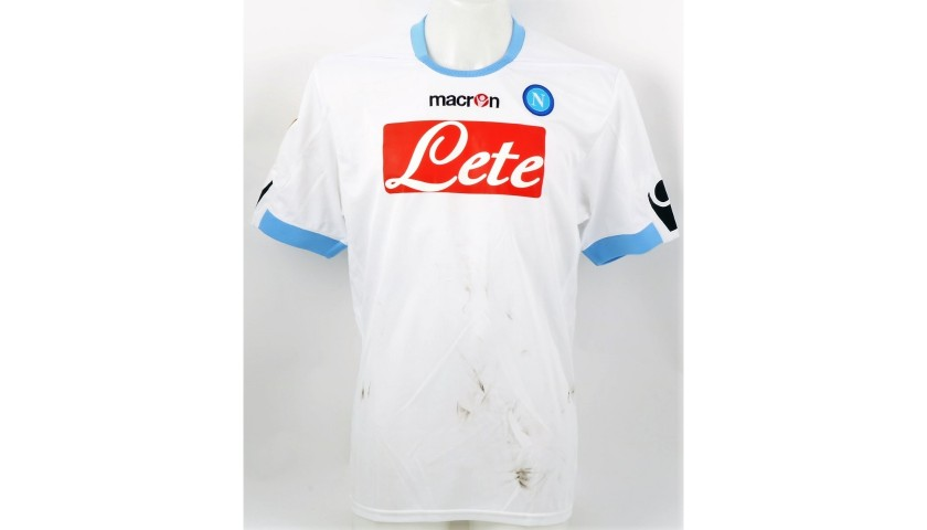 Cavani's Napoli Worn and Signed Shirt, 2010/11