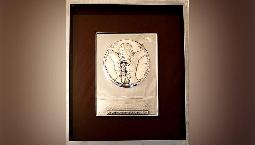 """Bas-relief """"La Fecundidad"""" by Salvador Dalì"""