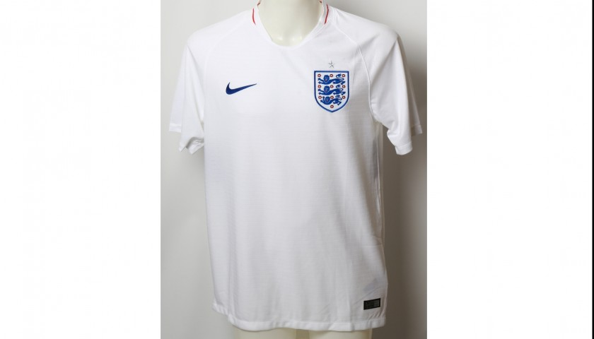 2018 FIFA World Cup Raheem Sterling Signed England Shirt