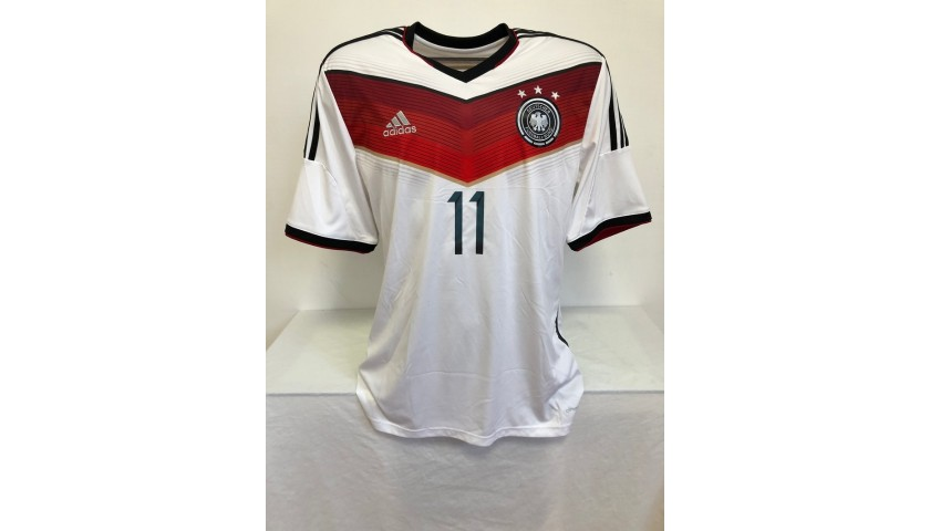 Klose's Official Germany Signed Shirt, 2014