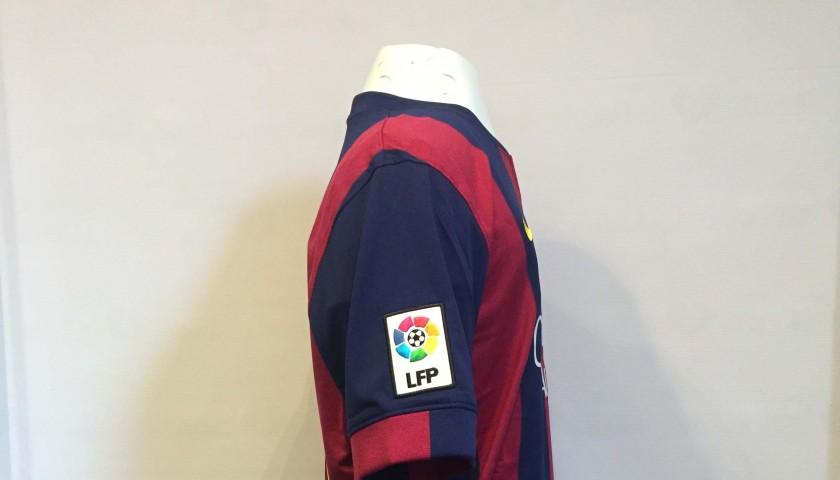 67ca07c7 Lionel Messi FC Barcelona Signed Shirt from the historic 2014-2015 treble  season