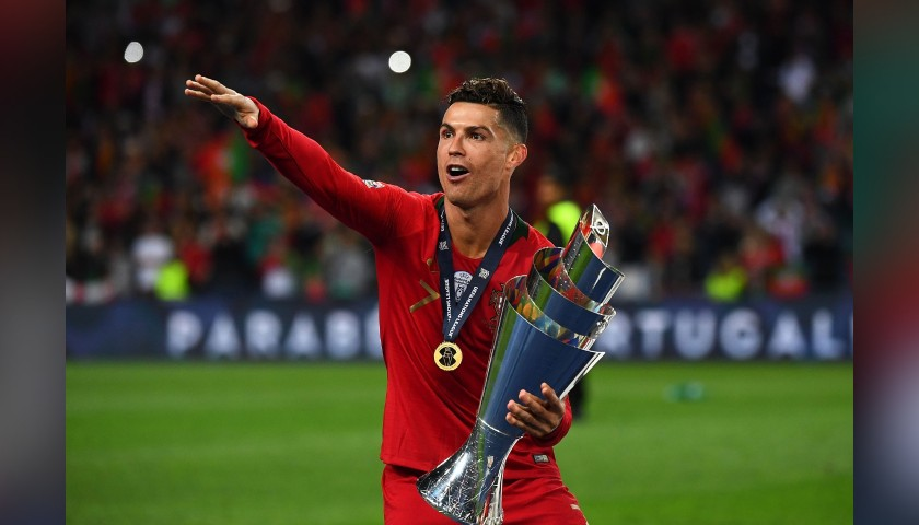 Official Euro 2020 Football - Signed by Cristiano Ronaldo
