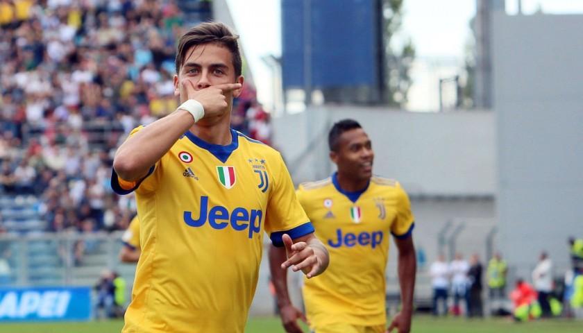 5b5eaadbe Signed Official Dybala Juventus Shirt