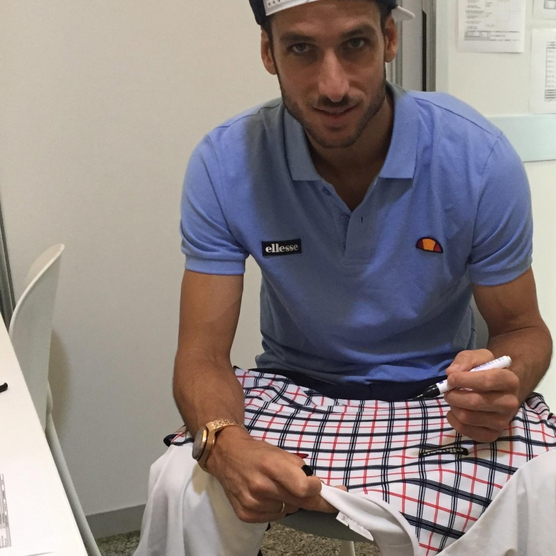 Feliciano Lopez Signed and Worn Shirt