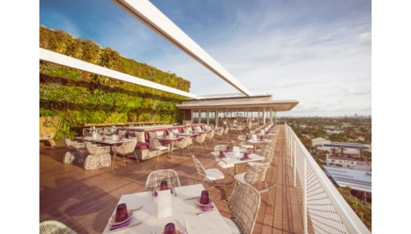 Dinner & Drink Pairing for two at Juvia Miami Beach