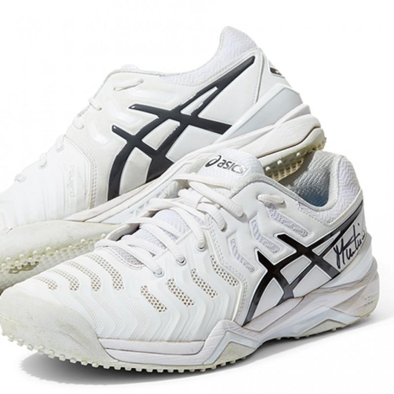 Martina Navratilova Signed Shoes