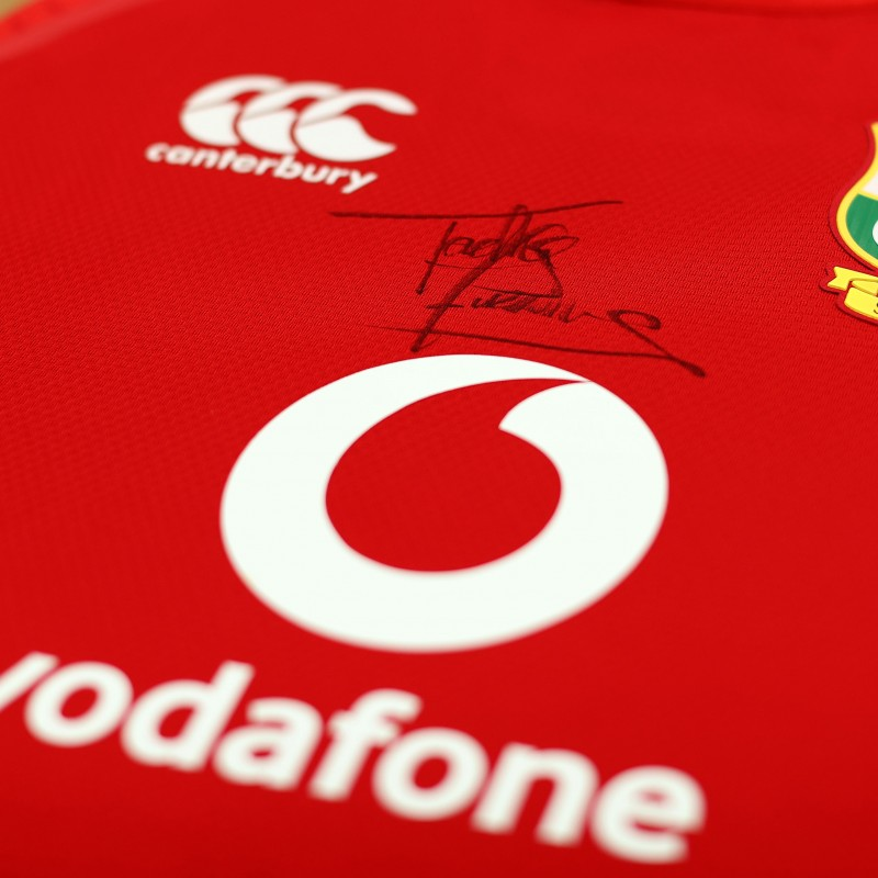 Lions 2021 Test Shirt - Worn and Signed by Tadhg Furlong
