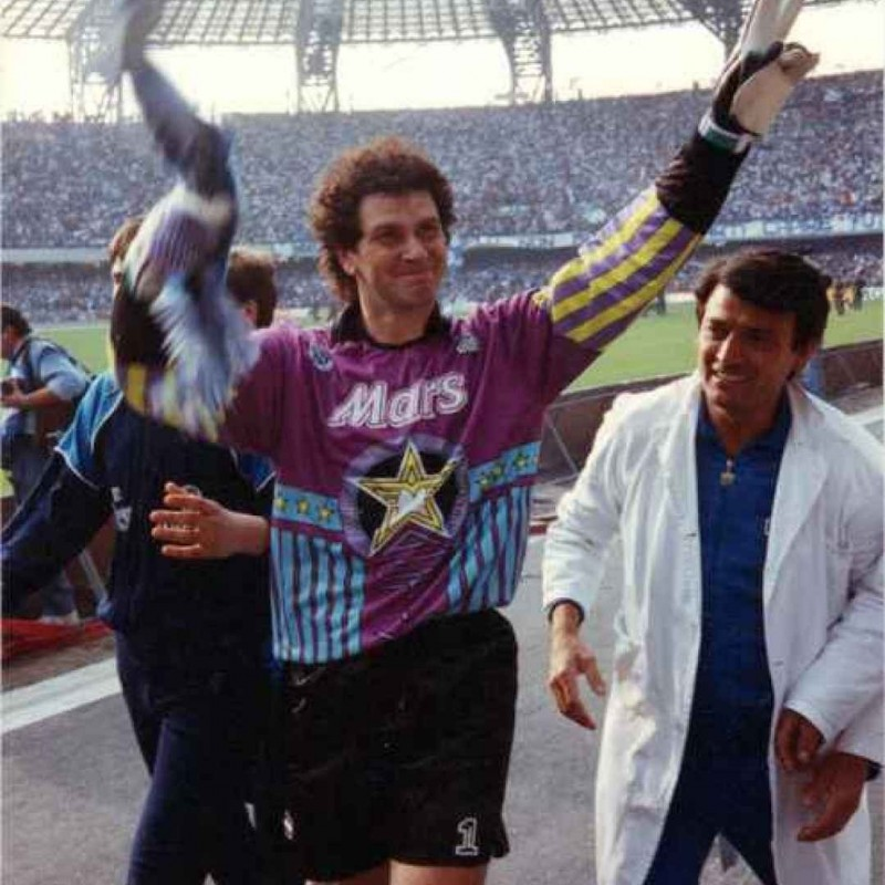 Giuliani's Napoli Worn Kit, 1989/90