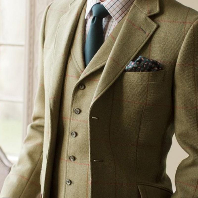 Handmade bespoke Suit by Fielding & Nicholson