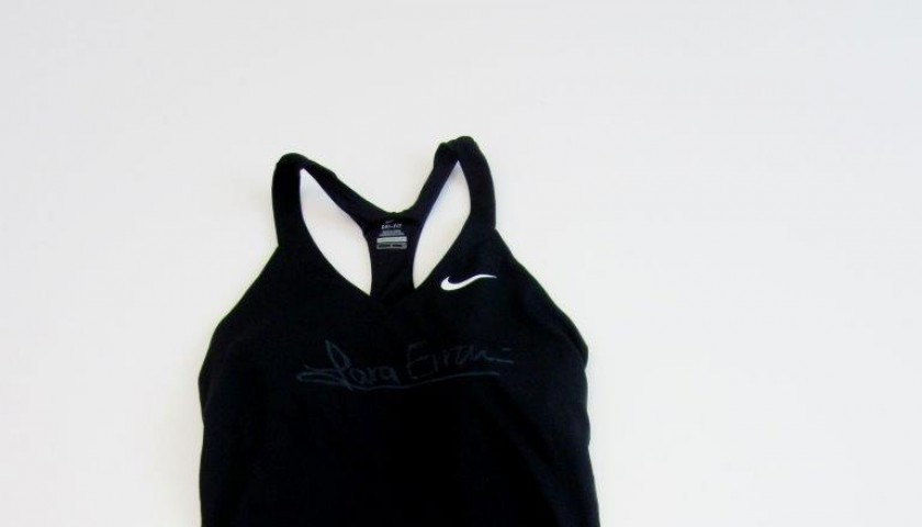 Match tennis outfit worn by Sara Errani, Italian Open - signed