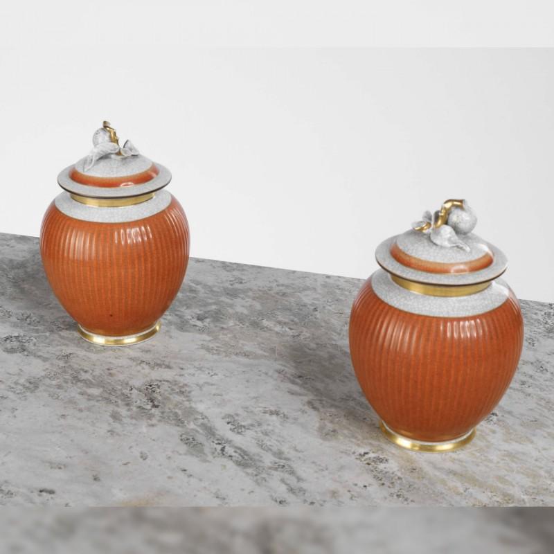 Jacques Grange - Pair of Vases