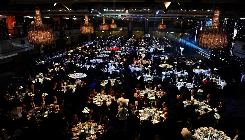 Be VIP Guests of Gordon Taylor OBE at the PFA Awards Dinner 2019