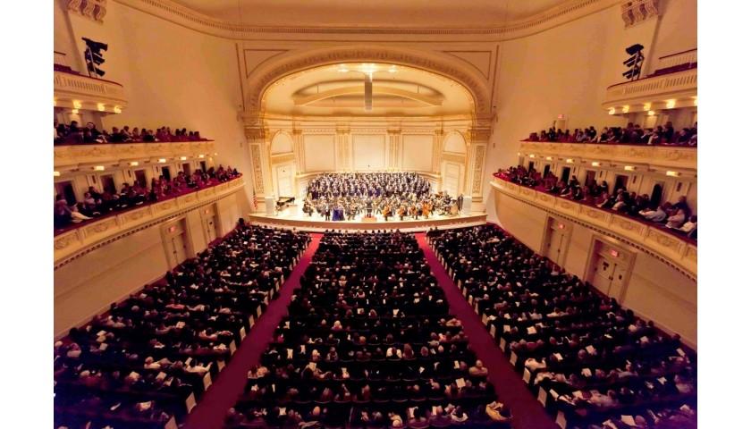 Carnegie Hall Concert & Trattoria Dell'Arte Dinner for 2