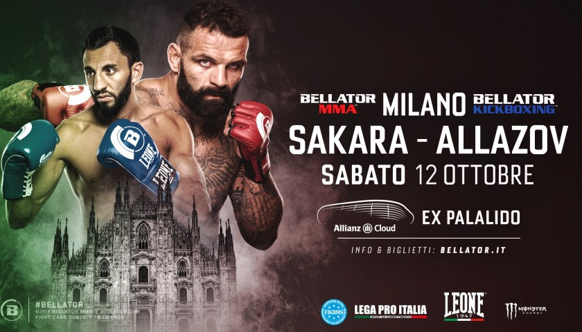 Attend the Bellator Event in Milan and Meet the Fighters