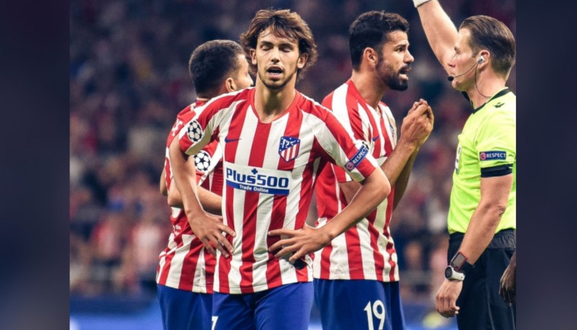 Joao Felix's Atletico Madrid Match Shirt, UCL 2019/20