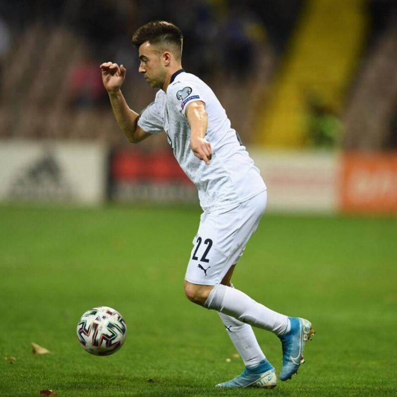 El Shaarawy's Match Shorts, Bosnia-Italy 2019