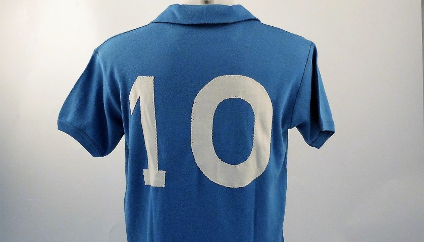 Maradona Napoli match issued/worn Shirt, Serie A 1985/86