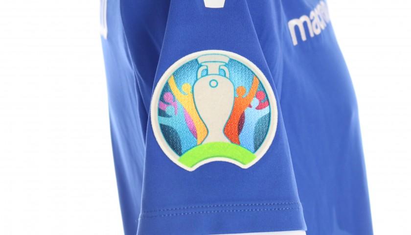 Kardesoglu's Worn Shirt, Liechtenstein-Italia 2019