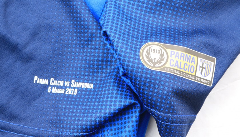 Siligardi's Worn Shirt, Parma-Sampdoria - #Blucrociati