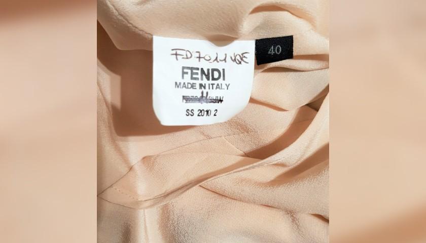 Fendi Dress Worn by Italian Actress Asia Argento