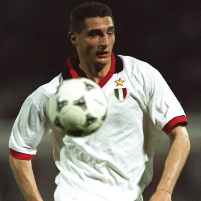 Massaro's Official Milan Signed Shirt, 1994