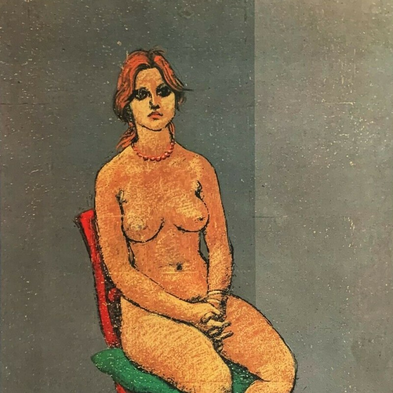 """Donna nuda con Collana"" di Francesco Messina"