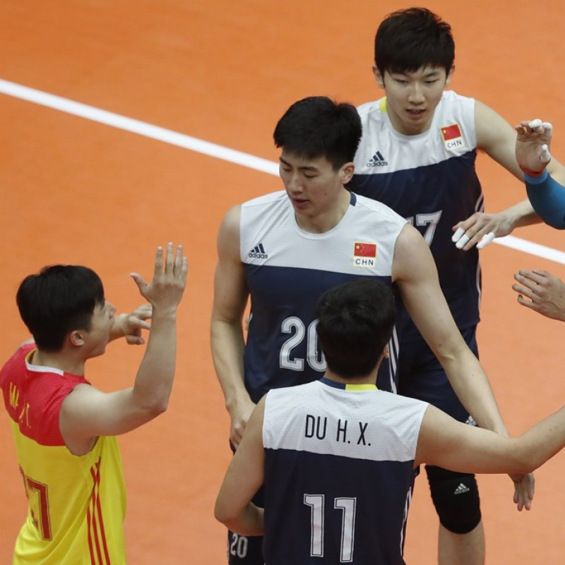 Official FIVB Volleyball Signed by the Chinese National Volleyball Team