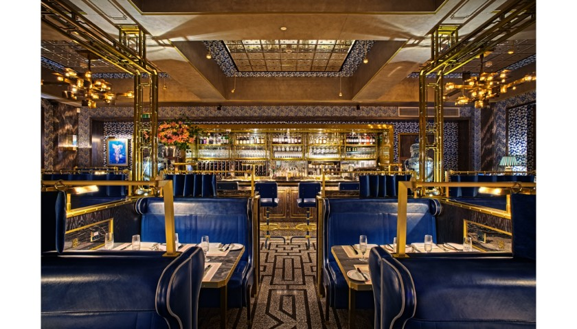 Caviar and Champagne Dinner for Fourteen at Bob Bob Ricard with Ben Elliot