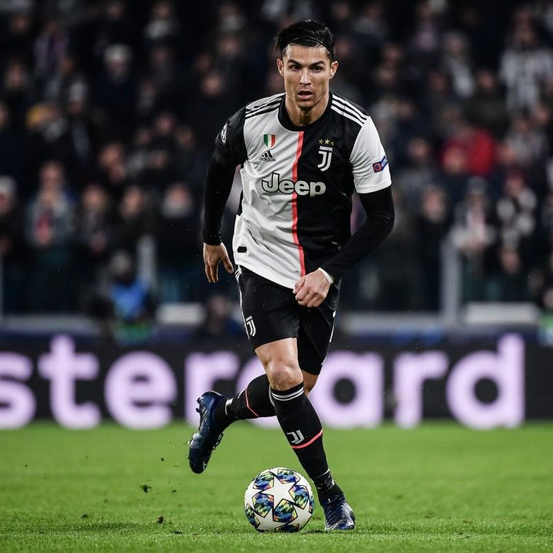 Ronaldo's Juventus Signed Match Shirt, UCL 2019/20