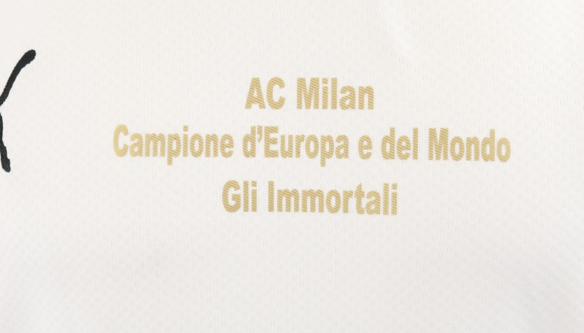 "AC Milan ""Immortali"" Shirt - Signed by Galli"