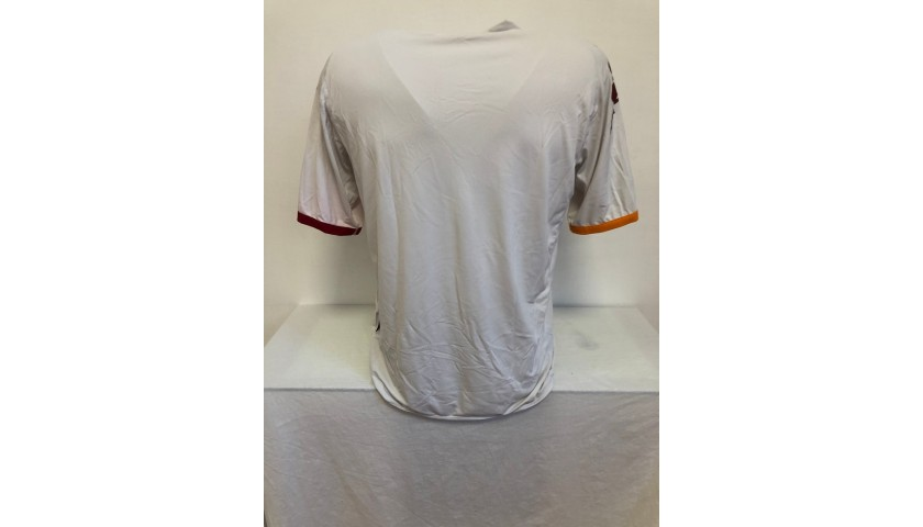 Official Roma Shirt, 2008/09 - Signed by Totti, De Rossi and Florenzi