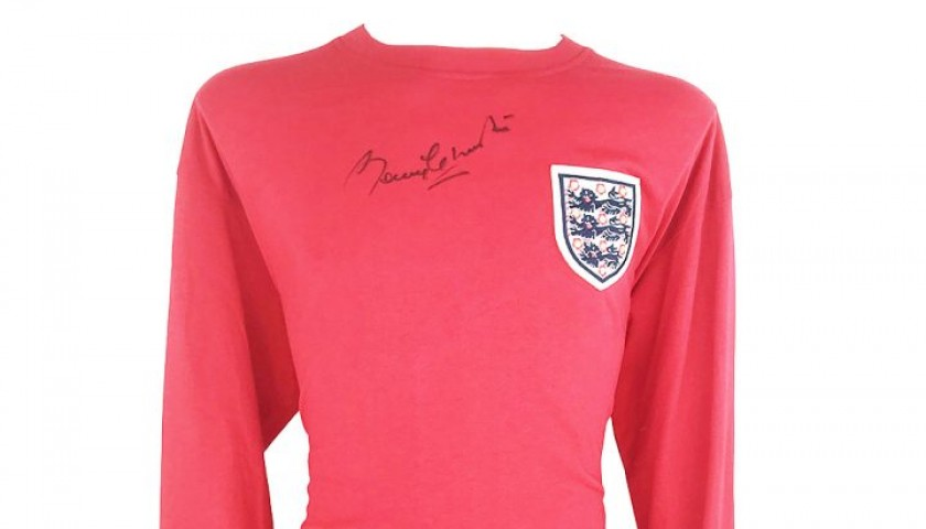 Charlton's England World Cup 1966 Signed Shirt