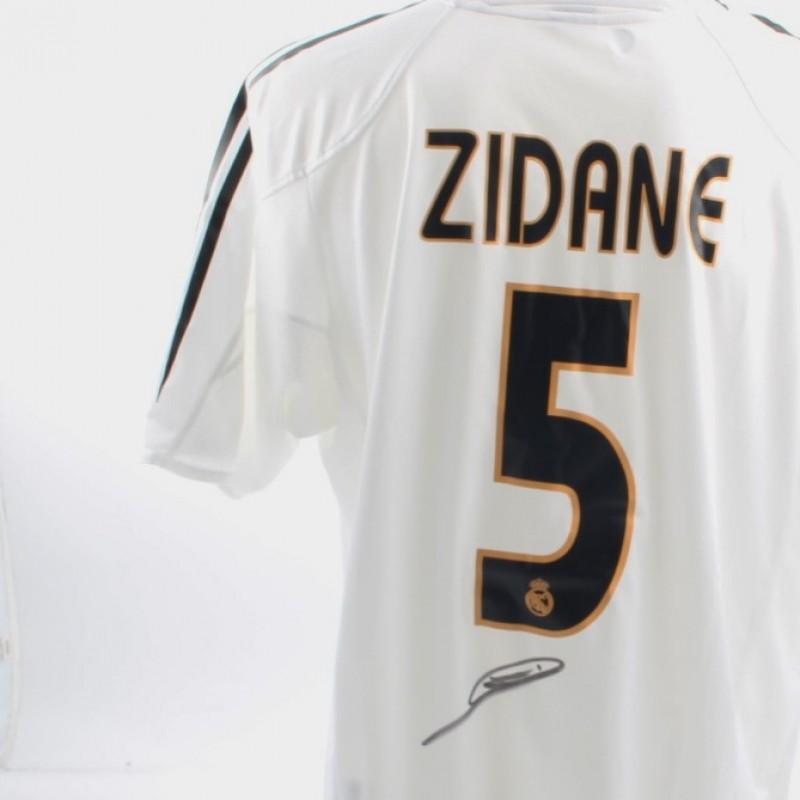 c234fd44c51 Zinedine Zidane Signed Official Replica Real Madrid 03 04 Shirt