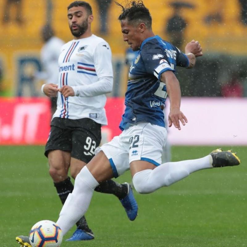 Alves's Worn Kit, Parma-Sampdoria - #Blucrociati