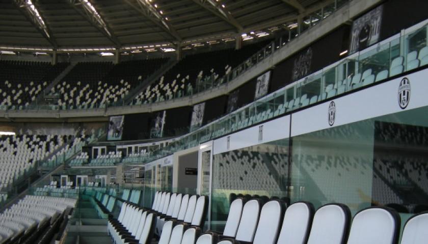 2 seats at Hublot SkyBox for Juventus-Torino
