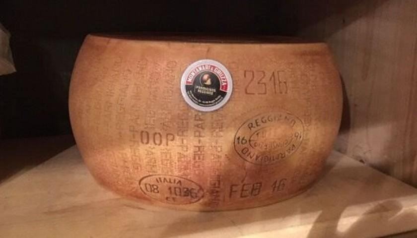 Wheel of Parmigiano Reggiano PDO Cheese