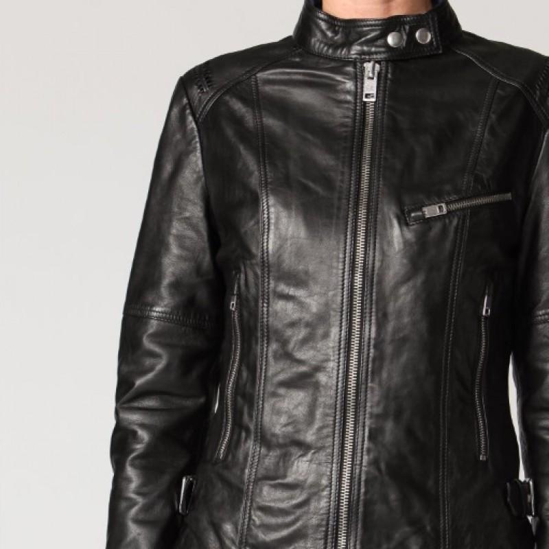 Diesel woman leather jacket