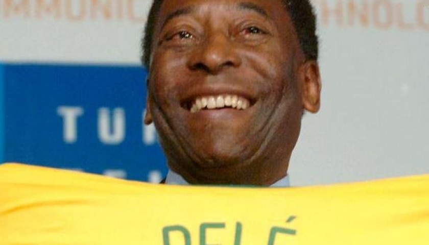 Brazil PELE shirt - signed