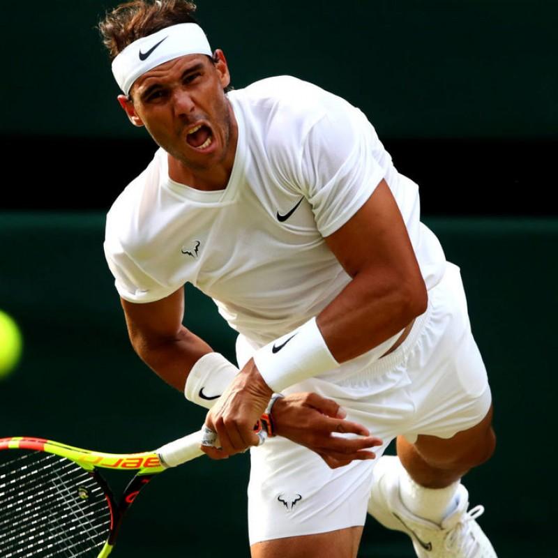 Rafa Nadal Signed Nike Wristband