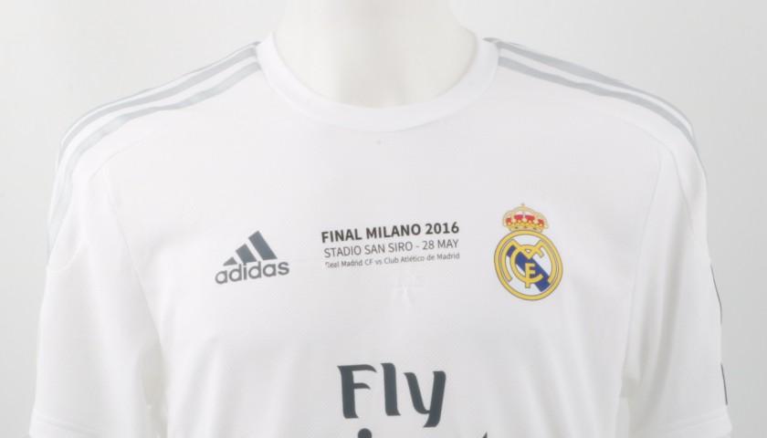 Bale Match Issued/Worn Shirt, Champions League Final