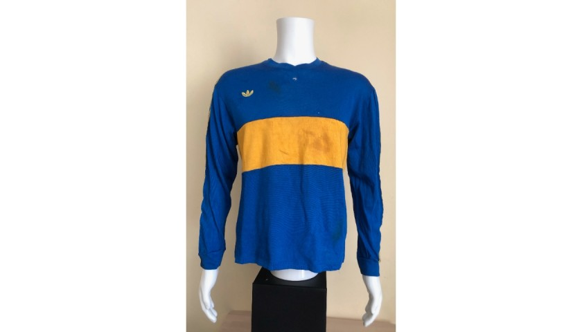 Maradona's Boca Juniors Match Shirt, 1981/82