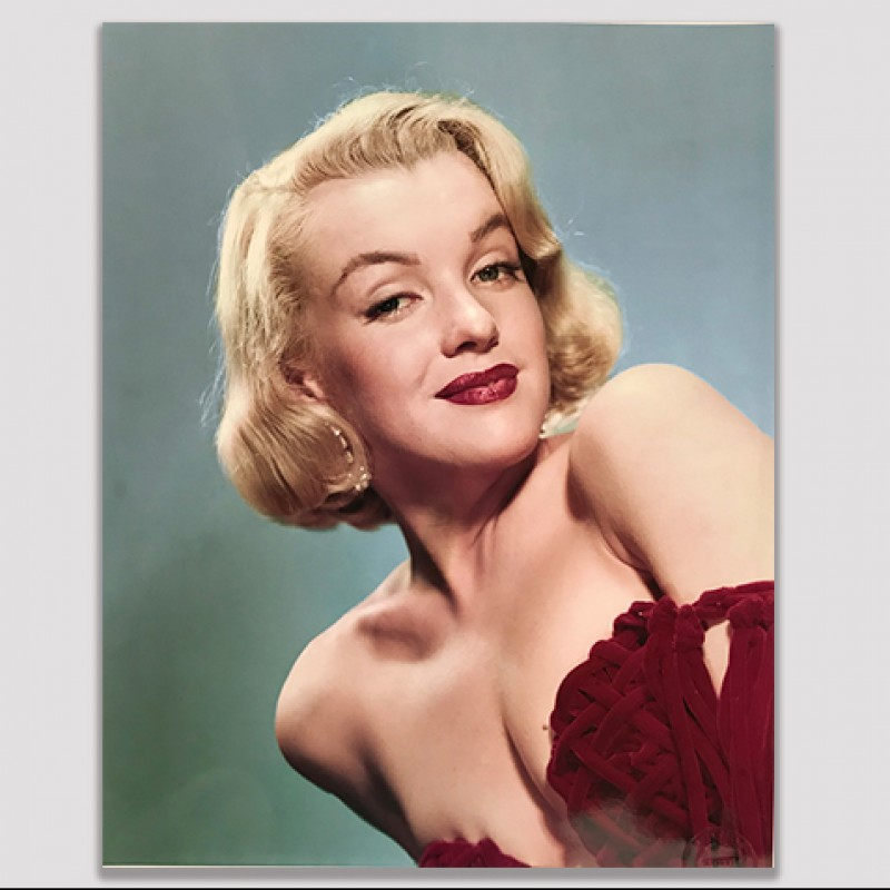 Vintage 1956 Marilyn Monroe Studio Photograph and Negative