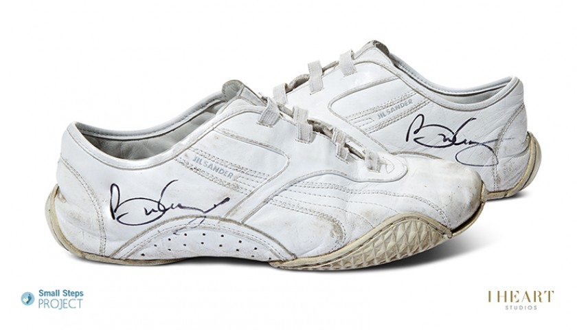 Brian May Signed Shoes