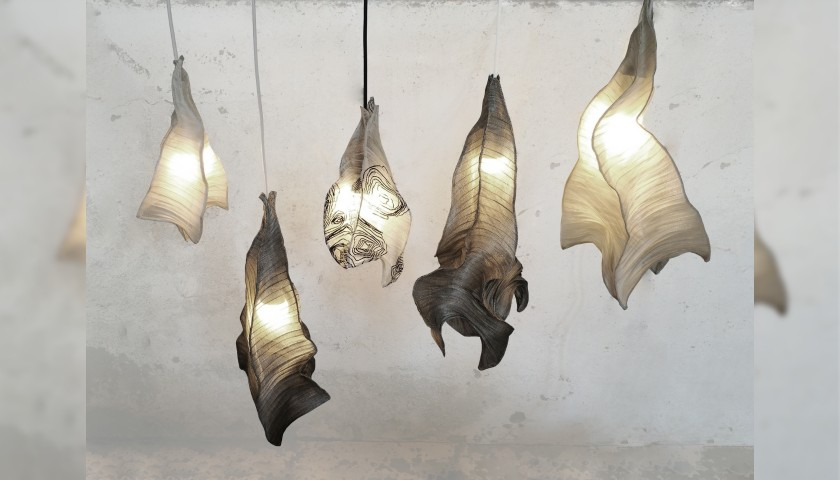 Phantasma Set of Lamps by Mirei Ong