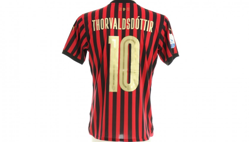 Berglind Þorvaldsdóttir will Give You the Shirt She Wore for the Milan Derby