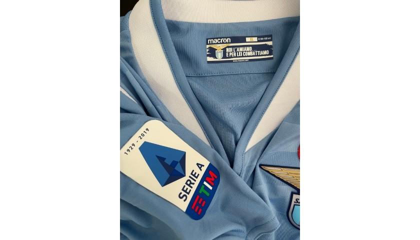 Lulic's Lazio Match Shirt, 2019/20