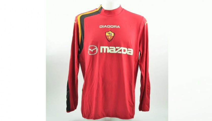 best sneakers 0e1ca a1624 Totti's Worn Roma-Juventus 2005 Shirt - CharityStars