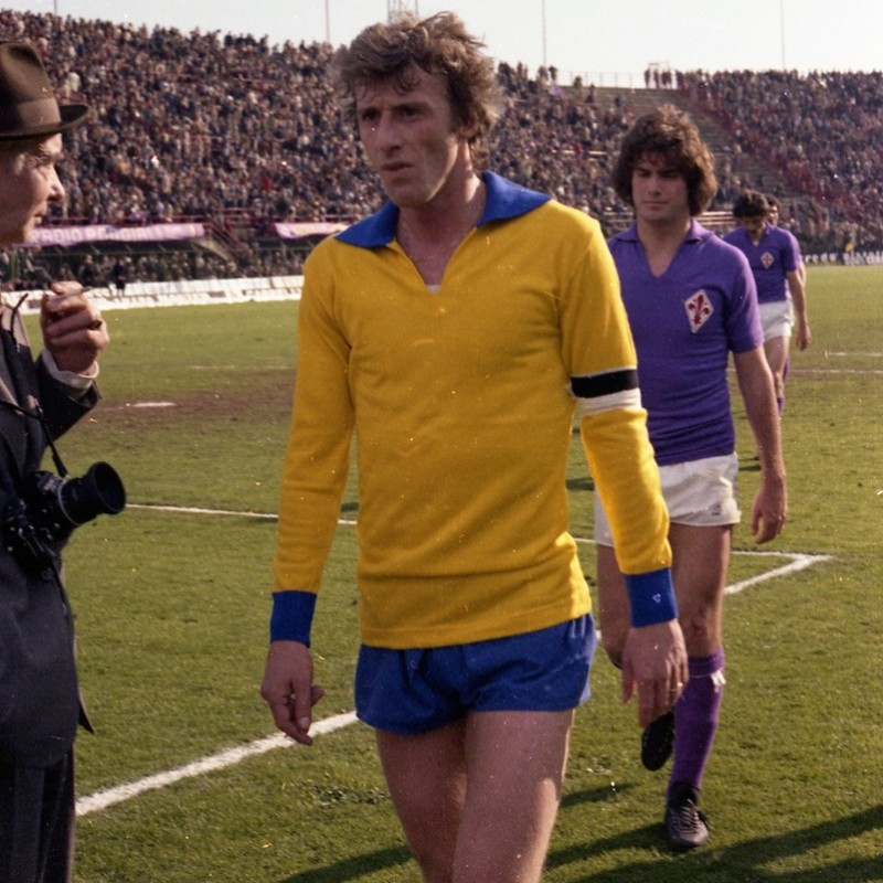 Yellow Hellas Verona Shirt - 1970s Replica